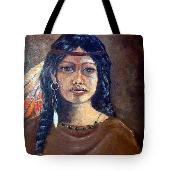 Anne Wolfe Tote Bag