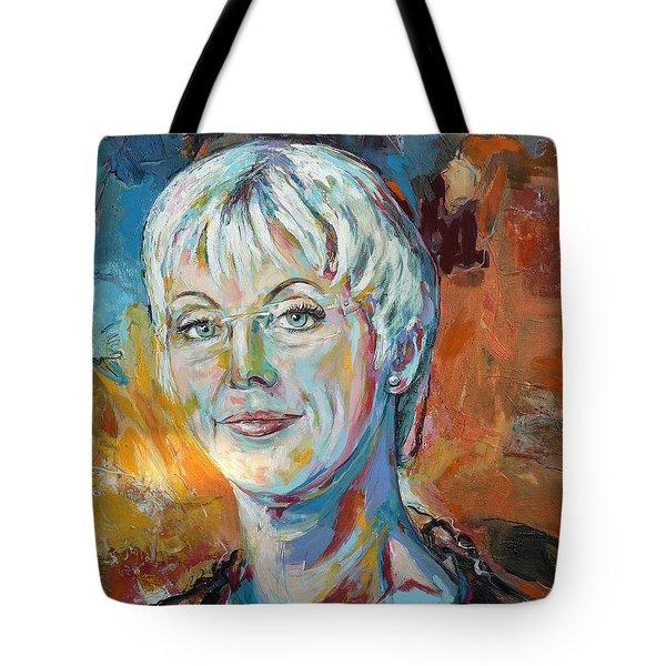 Annette Tote Bag by Koro Arandia
