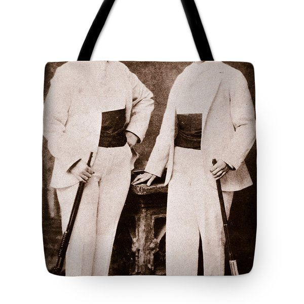 Annie Oakley And Her Sister Tote Bag