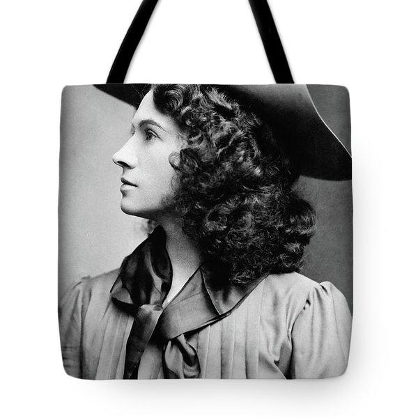 Annie Oakley Profile Tote Bag