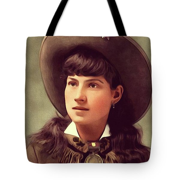 Annie Oakley, Sharpshooter Tote Bag