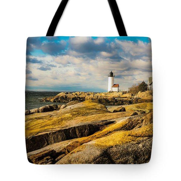 Annisquam Harbor Light Tote Bag