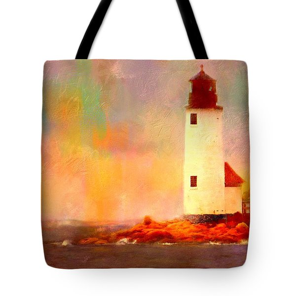 Annisquam Rainbow Tote Bag