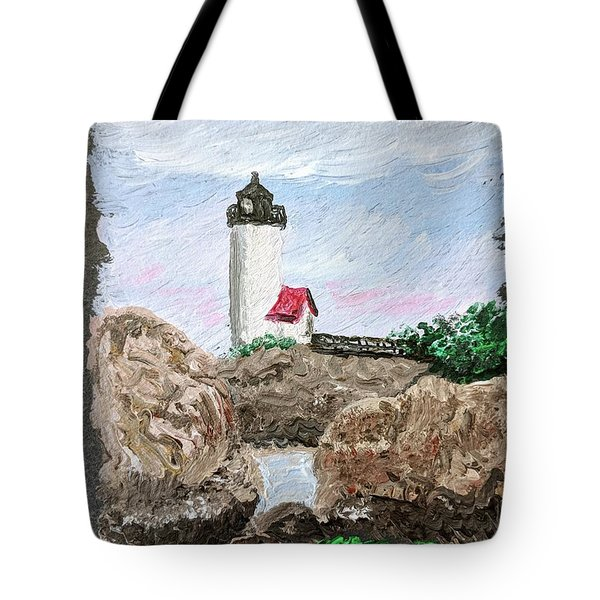 Annisquam Sunset 1 Tote Bag