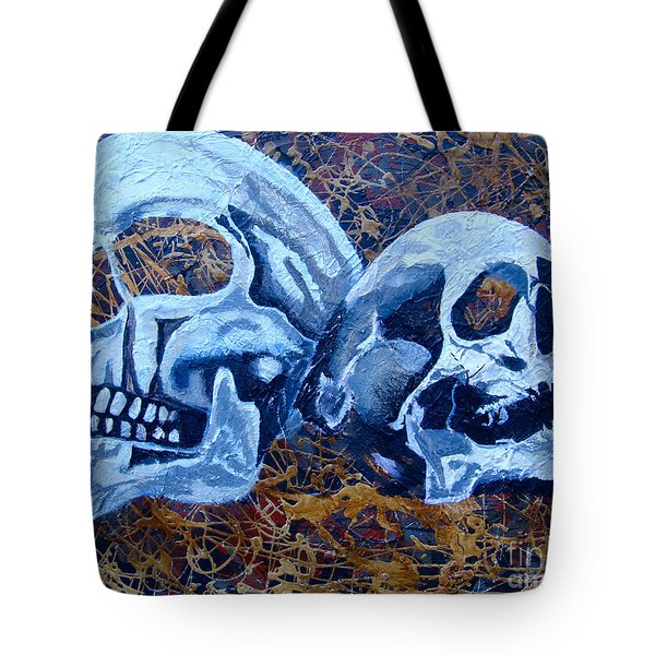 Tote Bag featuring the painting Anniversary by Stuart Engel