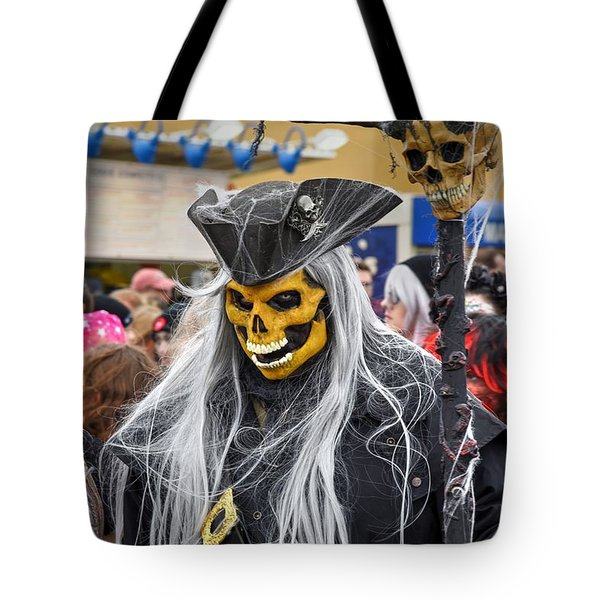 Annual Zombie Walk On The Asbury Park Boardwalk Tote Bag