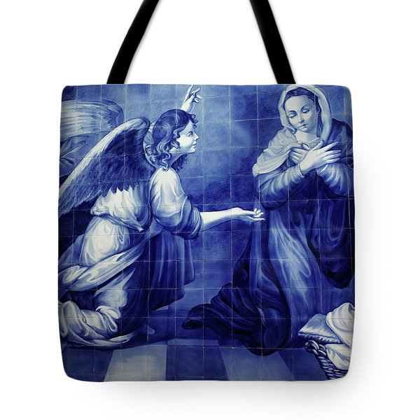 Annunciation Tote Bag by Gaspar Avila
