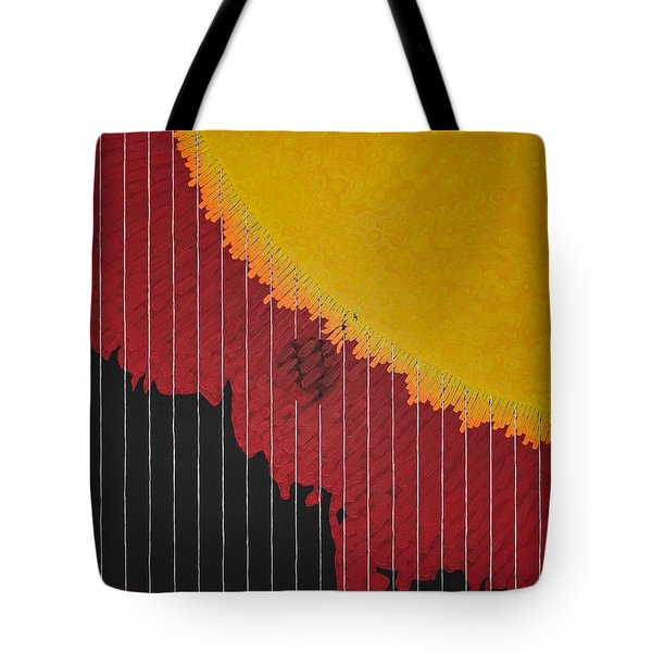Anomaly At The Sun Tote Bag