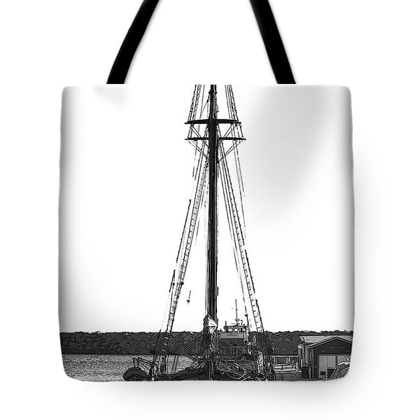 Anomaly Ship Poster Tote Bag