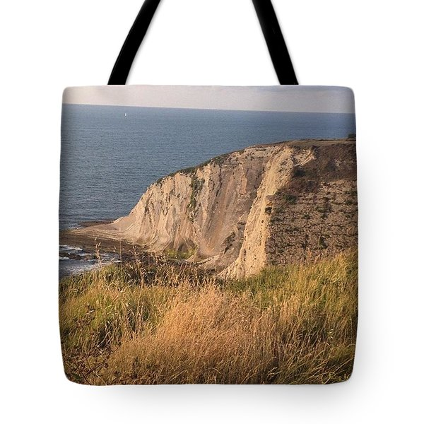 Another Awesome Cliff Shot 😄 Took Tote Bag