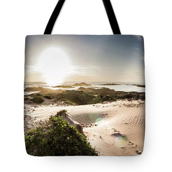 Another Beach Sunset Tote Bag