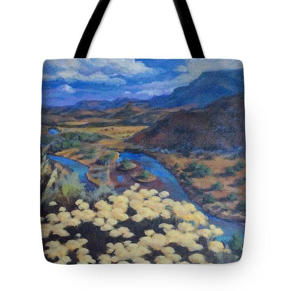 Another Day Above Rio Chama Tote Bag