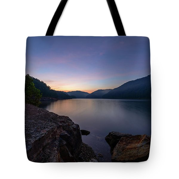 Another Day At Windy Bay Tote Bag