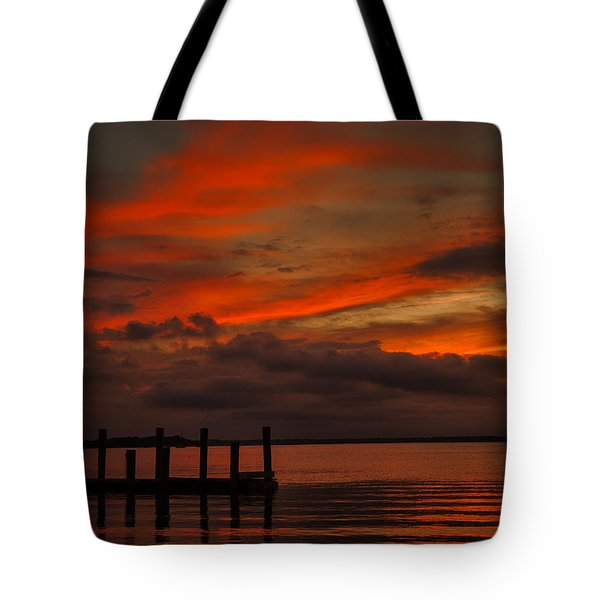 Another Day Is Done Tote Bag