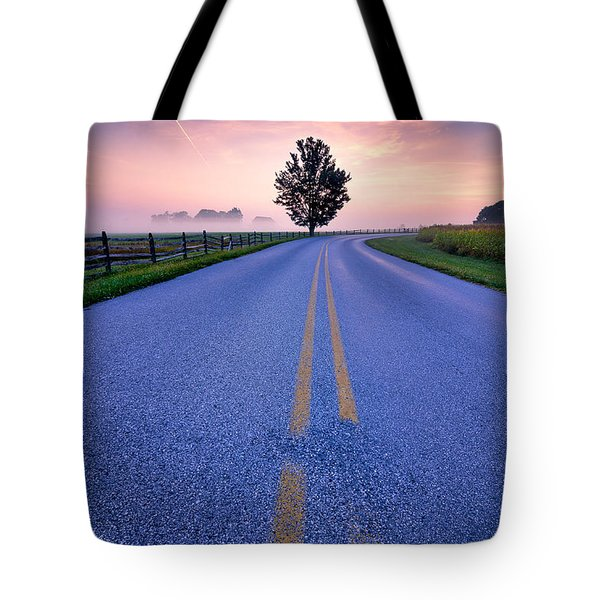 Another Gettysburg Morning Tote Bag