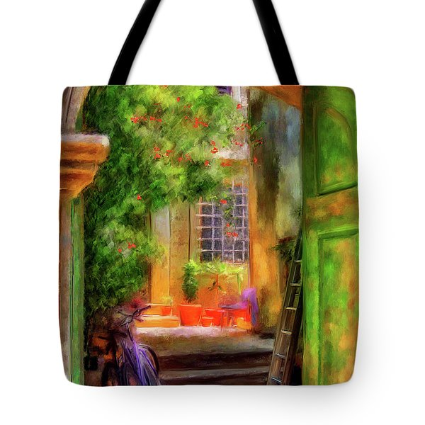 Another Glimpse Tote Bag