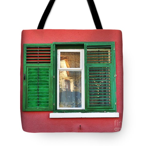 Another Green Shutter Tote Bag