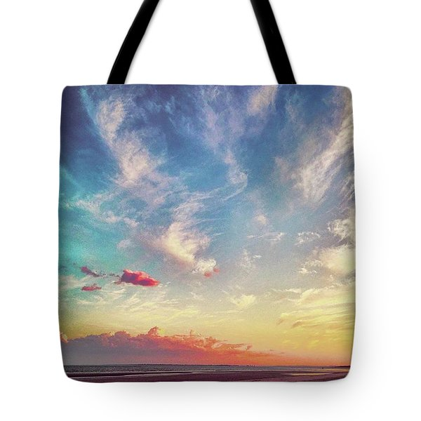 Another Incredible #sunset Courtesy Of Tote Bag