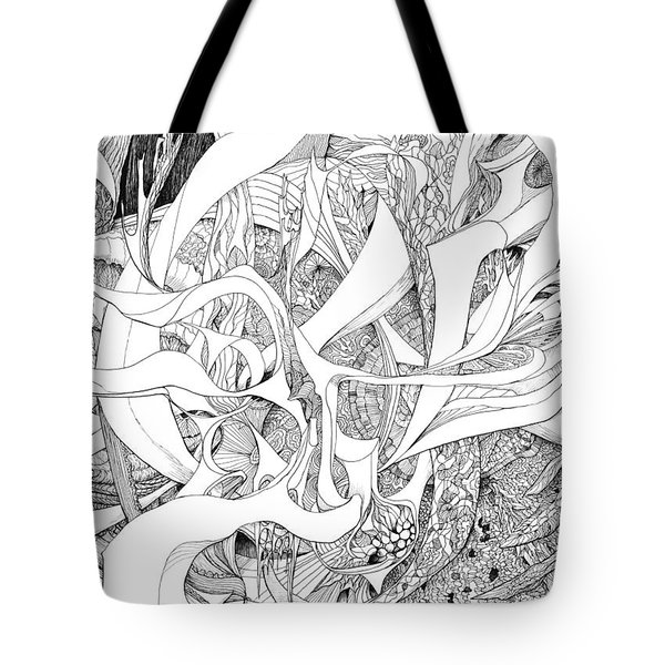 Another Kind Of Peace Tote Bag by Charles Cater