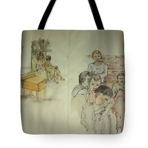 Another Look At Mental Illness Album Tote Bag