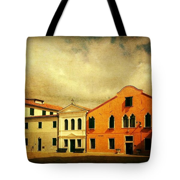 Tote Bag featuring the photograph Another Malamocco Day by Anne Kotan