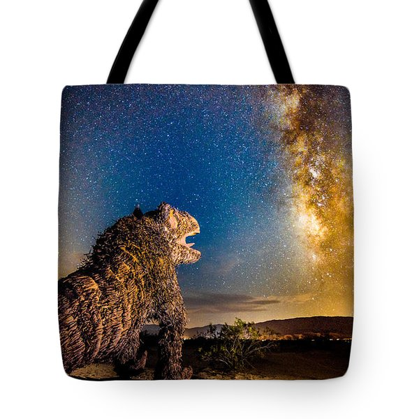 Another Monster At Borrego Springs Tote Bag