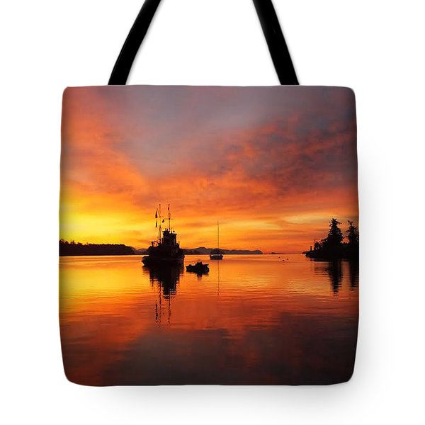 Another Morning Tote Bag