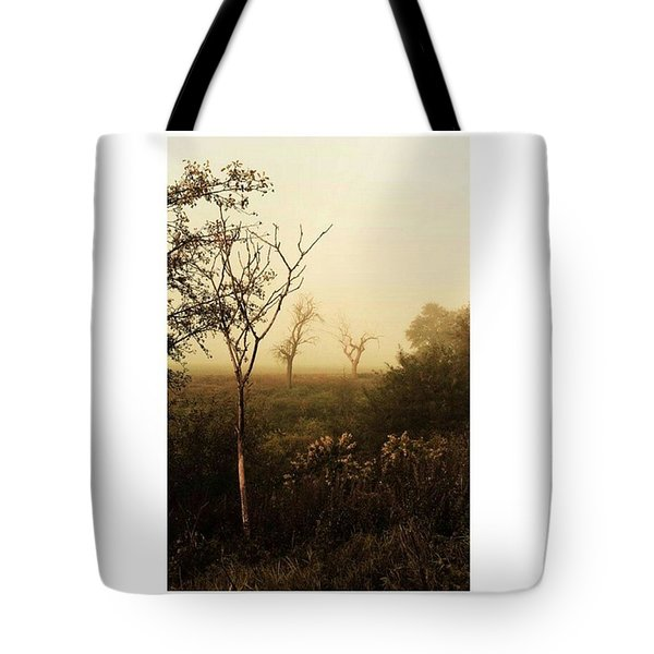 Another Morning  #autumn #morning Tote Bag