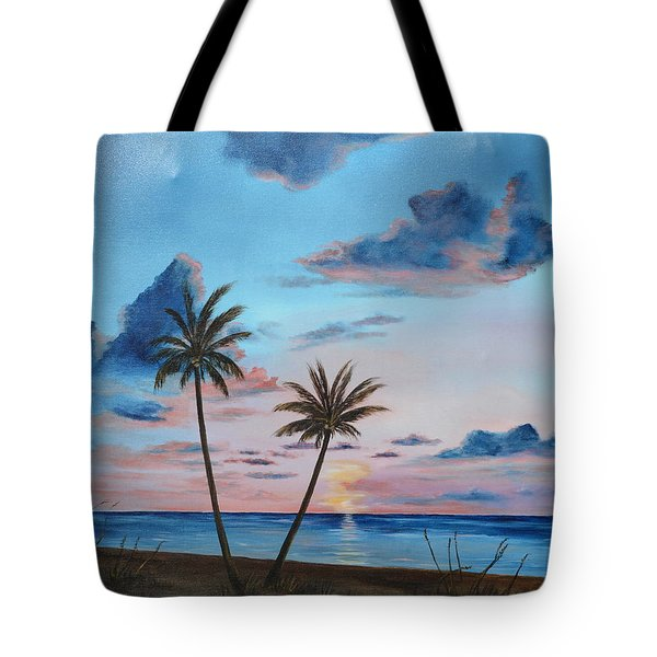 Another Paradise Sunset Tote Bag