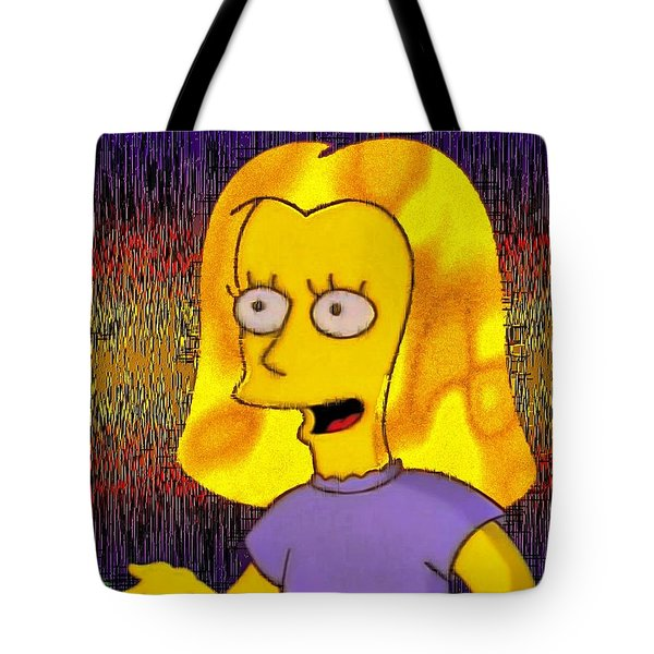 Another Pretty Face Tote Bag