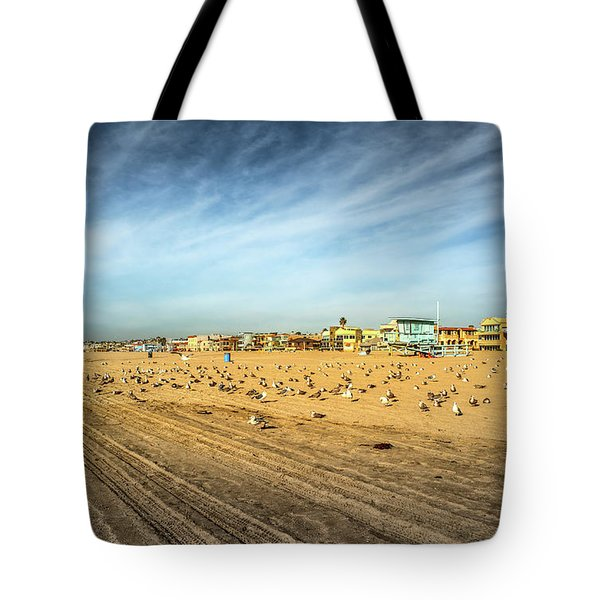 Tote Bag featuring the photograph Another Seagull Afternoon by Michael Hope