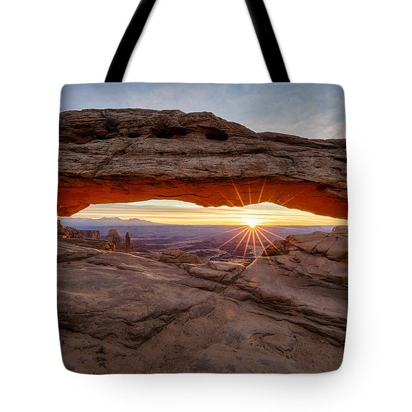 Another Sunrise At Mesa Arch Tote Bag