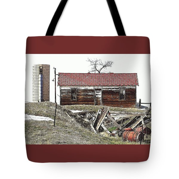 Another Time In Place Tote Bag by Clarice  Lakota