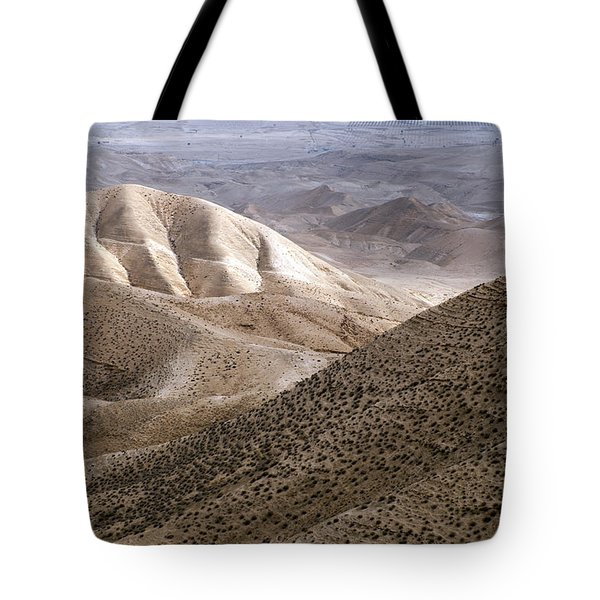 Another View From Masada Tote Bag