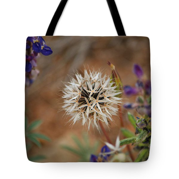 Another White Flower Tote Bag