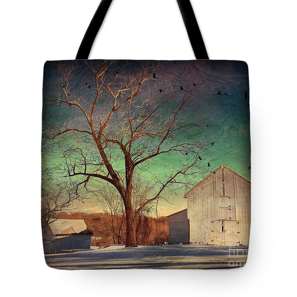 Another Winter Day  Tote Bag