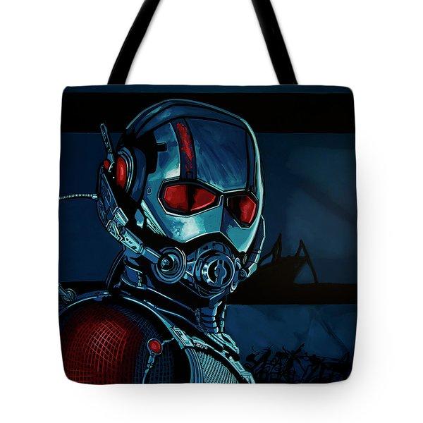 Ant Man Painting Tote Bag