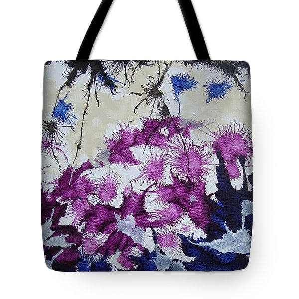 Tote Bag featuring the painting Ant Nap by Stuart Engel