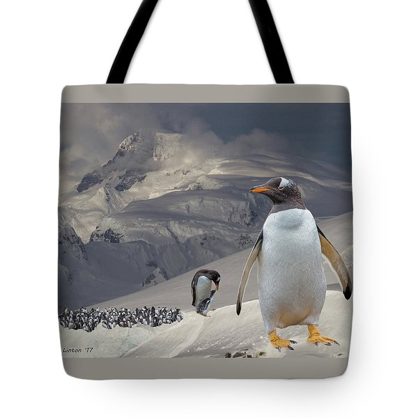 Antarctic Magesty Tote Bag