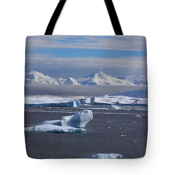 Antarctic Peninsula Tote Bag by Andrei Fried