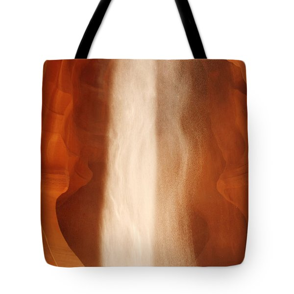 Antelope Canyon - A Spiritual Episode Tote Bag by Christine Till