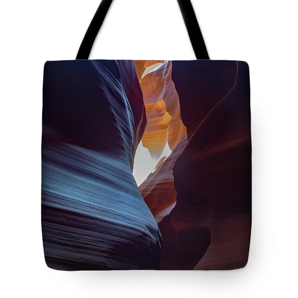 Tote Bag featuring the photograph Antelope Canyon 22 by Phil Abrams