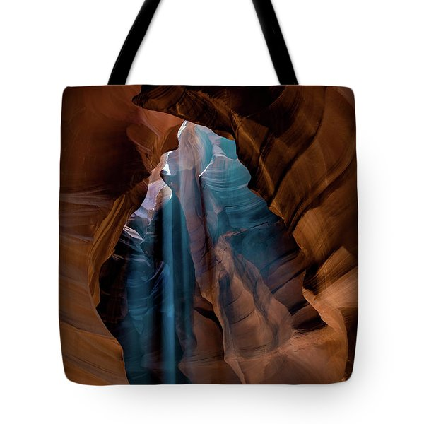 Tote Bag featuring the photograph Antelope Canyon 6 by Phil Abrams