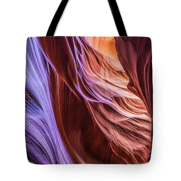 Antelope Canyon Air Glow Tote Bag