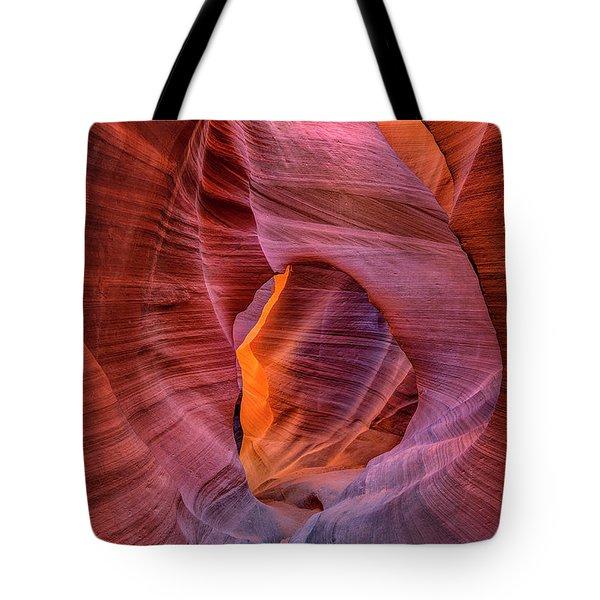 Antelope Canyon Chimney Tote Bag
