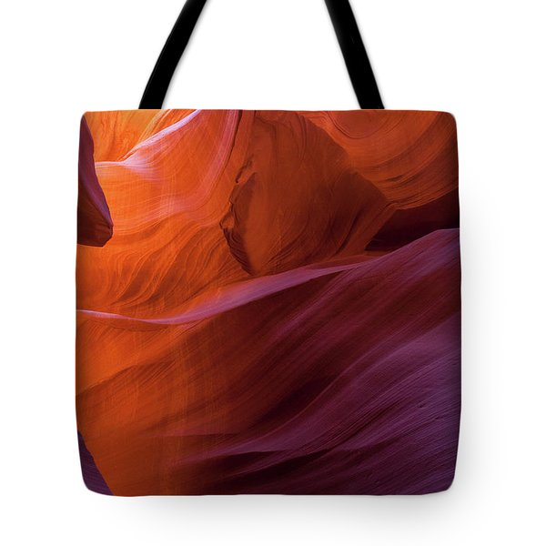 Antelope Canyon Fire Tote Bag