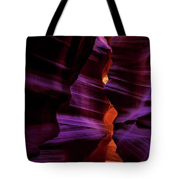 Antelope Canyon Glow Tote Bag