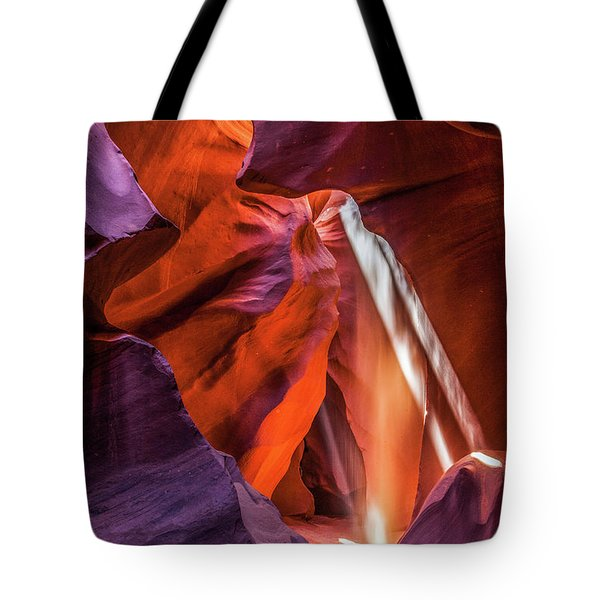 Antelope Canyon Lightshaft 3 Tote Bag