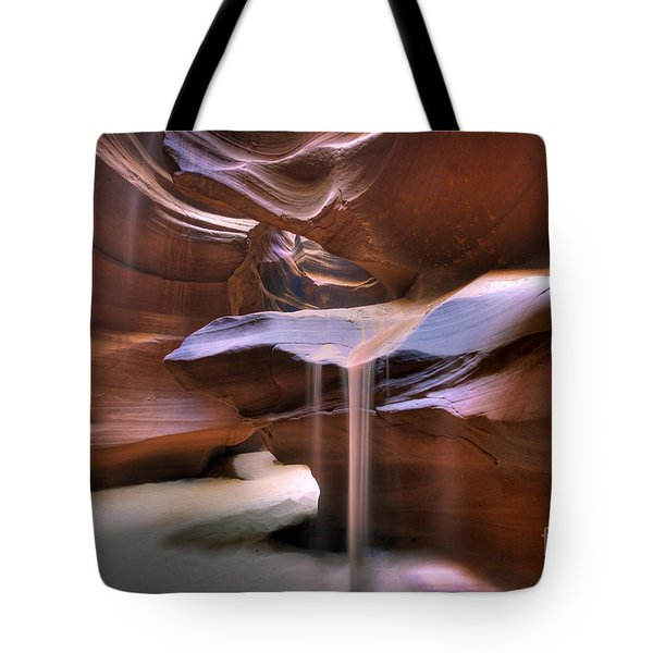Antelope Canyon Shifting Sands Tote Bag by Martin Konopacki