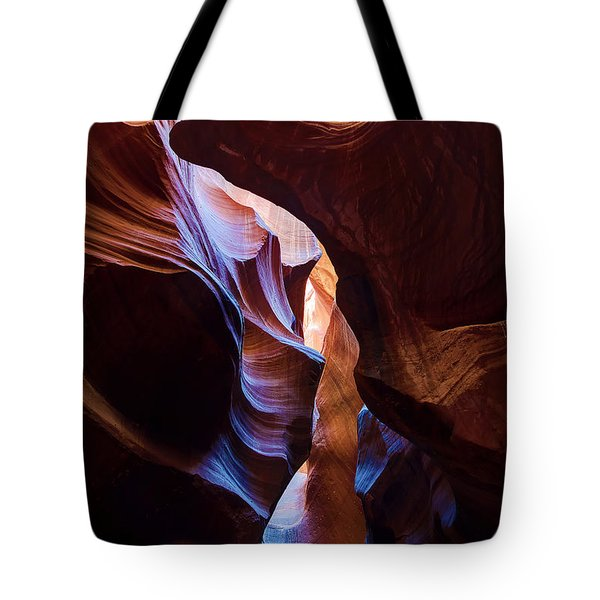 Antelope Canyon Squeeze Tote Bag
